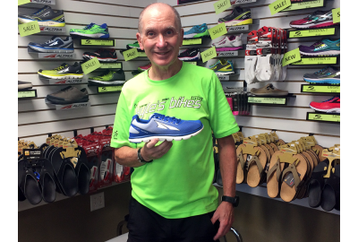 Bill Lorenz recommends the Altra One 2.5