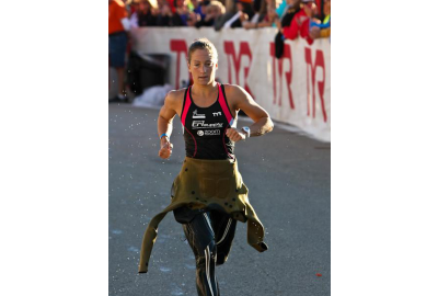 Tami Ritchie at Ironman Wisconsin