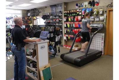 Running Gait Analysis and Shoe Selection
