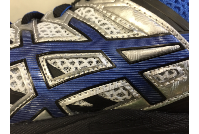Shoes have evolved from having so many stitches