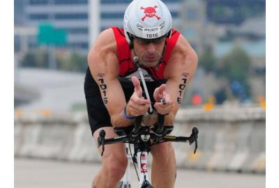 Greg Grandgeorge qualified for and competed in the 2015 USAT National Championships