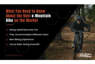 What You Need to Know About the Best e-Mountain Bikes on the Market